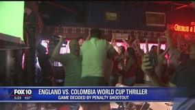 England fans witness soccer history at Phoenix pub