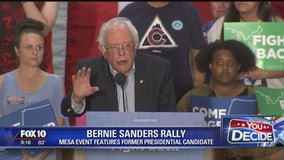 Bernie Sanders, Tom Perez speak at Come Together and Fight Back rally in Mesa