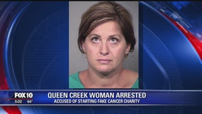 Authorities: Queen Creek woman faked cancer charity, took money