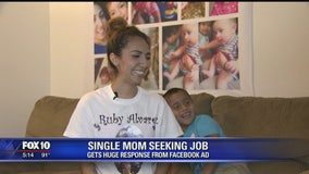 Valley mother reaches out for help, community reaches back