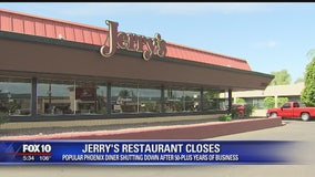 Jerry's Restaurant in Phoenix closes its doors after more than 50 years