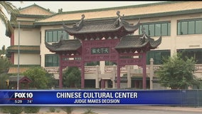 Restraining order protecting Chinese Cultural Center expired