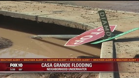 MONSOON 2017: Casa Grande neighborhood hit with flooding and damage after Saturday night's storm