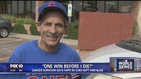 Valley cancer survivor says hope in Cubs kept him alive