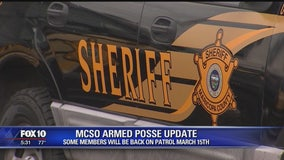Some MCSO posse members back on patrol March 15