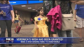 5-year-old battling heart condition gets wish granted