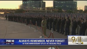 'Healing Field' in Tempe honors those lost on 9/11