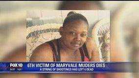 Sixth victim in Maryvale shootings has died