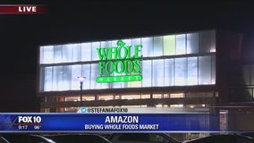 Valley residents react to Amazon's decision to buy Whole Foods
