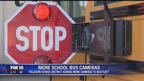 More stop arm cameras being installed on Tolleson school buses