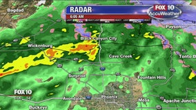 Winter storm hits northern Arizona