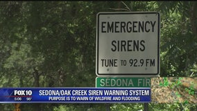 System exists to warn people of flash flooding