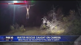 Man rescued from Salt River bottom in Mesa