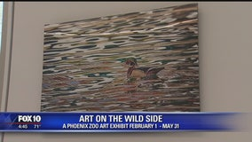 Olmost The Weekend: Art exhibit at Phoenix Zoo aims to raise environmental awareness