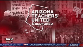 Thousands of teachers in Arizona to protest