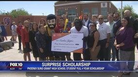 AZ high school student gets surprise scholarship