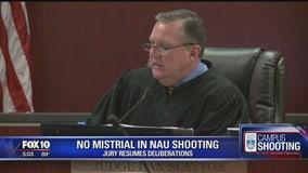 Judge denies motion for mistrial in NAU shooting trial