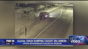 Person responsible for illegal dumping in Laveen caught on camera