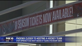 Could the Coyotes be moving to downtown Phoenix?