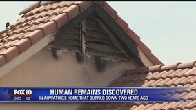 Human remains found in Ahwatukee home that caught fire two years ago