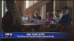 The Buffalo Chip Saloon, one year later