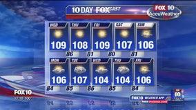 Noon Weather - 7/17/19
