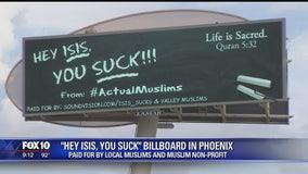 Muslim group condemns ISIS on Valley billboard