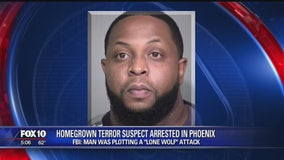 """Neighbors describe man accused of plotting """"lone wolf"""" style terror attack"""