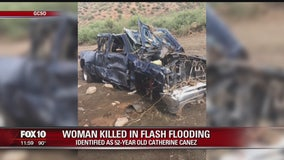 Gila County Sheriff's Office: Woman drowns in flooded wash