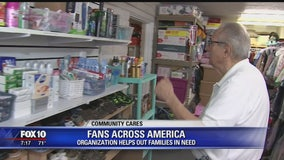 Fans Across America helping Valley families in need