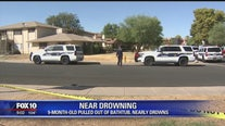 PD: 9-month-old in critical condition after nearly drowning in bathtub