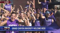 Cory's Corner: Grand Canyon University welcome week
