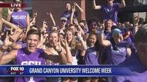 Cory's Corner: Grand Canyon University welcome week