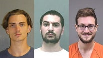 Authorities arrest 3 men who they allege were planning separate mass shootings in 3 states