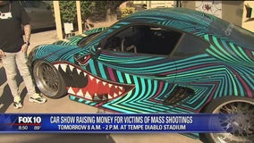 Car show raises money for victims of mass shootings