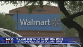 Walmart bans violent imagery from stores