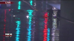 Monsoon returns with a vengeance, bringing rain, lightning, dust and hail to parts of Arizona