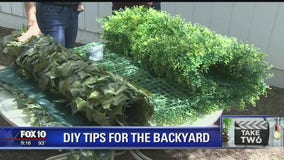 Take Two: DIY tips for the backyard