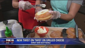 Donut Bar's grilled cheese with a twist