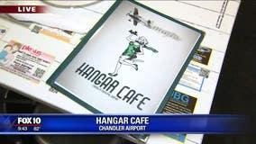 Hangar Cafe at Chandler Airport