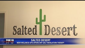 New wellness spa offers dry salt inhalation therapy