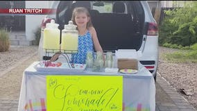 6-year-old girl donates lemonade stand earnings to homeless women and children in the Valley
