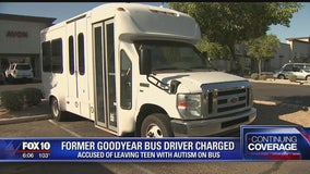 Goodyear police: Non-verbal teen with autism left on hot bus for 3 hours