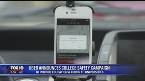 Uber announces college safety campaign