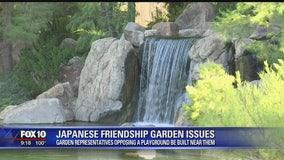 Japanese Friendship Garden representatives oppose plans to build playground near the garden
