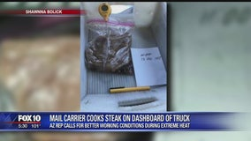 Arizona state lawmaker calls for better working conditions for USPS mail carriers during heat