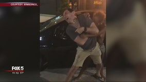 Uber driver bitten and attacked by woman on street