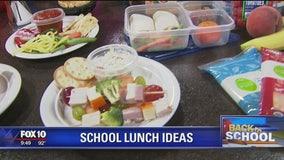 Chef O's school lunch ideas
