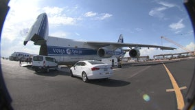 Giant Russian-made plane makes visit to Phoenix