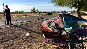 Police: 2 drivers hospitalized following wrong-way crash in Casa Grande